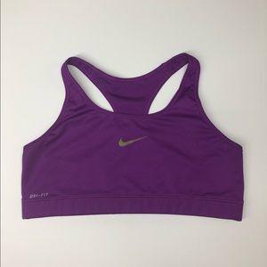 Purple Nike Sport Bra